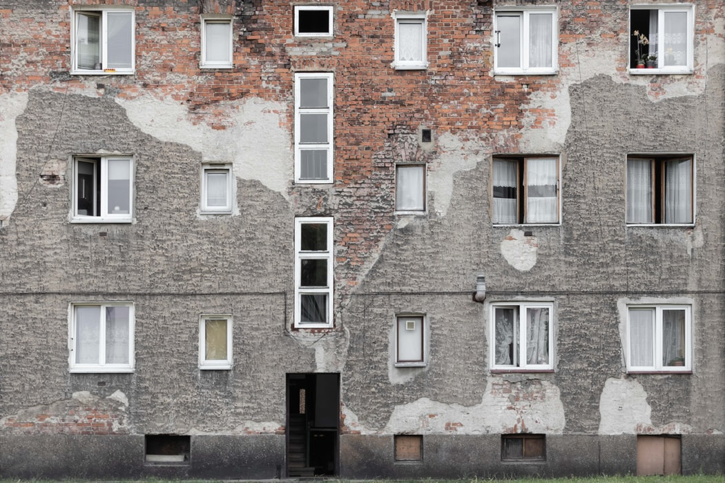 Homes damaged
