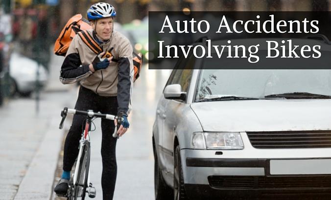 Auto Accidents Involving Bikes