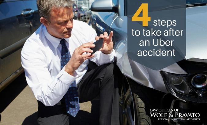 4 Steps to Take After an Uber Accident