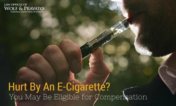 Hurt by an E-Cigarette? You May Be Eligible for Compensation