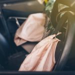 airbags explode after car accident